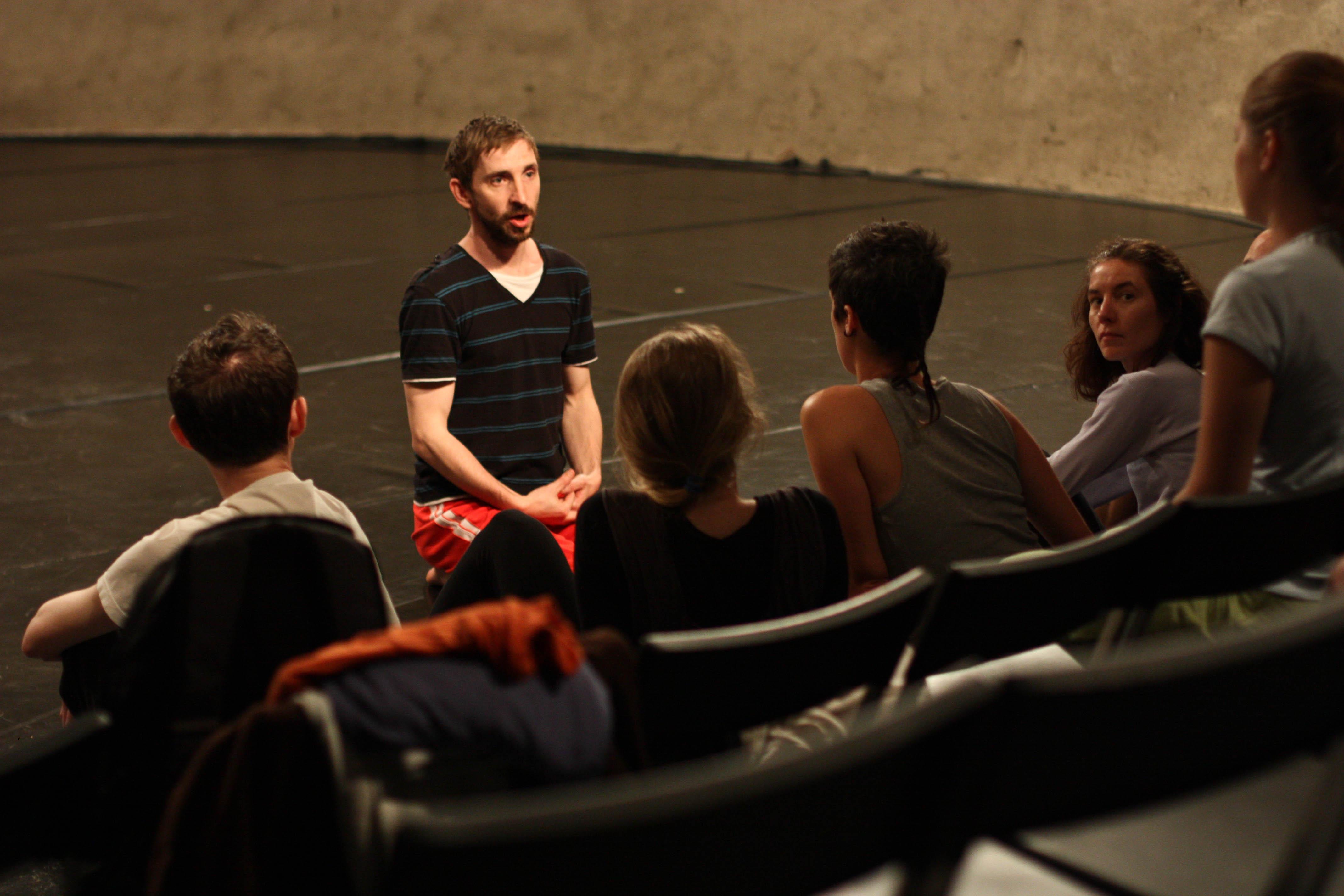 Tancuj, tancuj! 2013: Jaro Viňarský - workshop