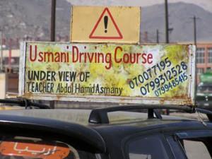 Afgánske ženy za volantom