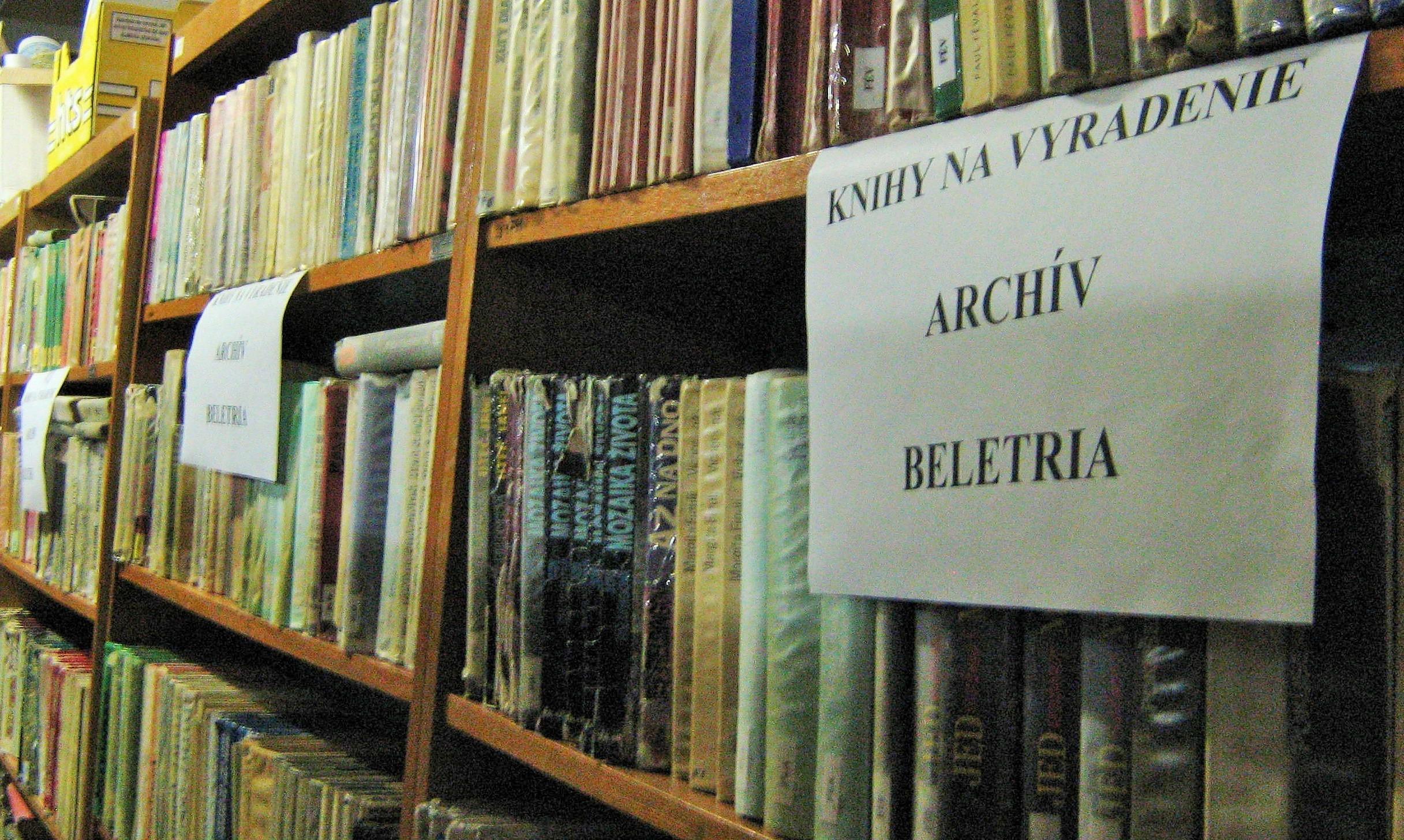 Archív Krajskej knižnice