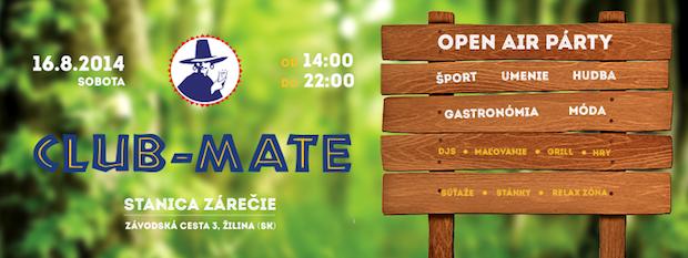 Club Mate Open Air párty