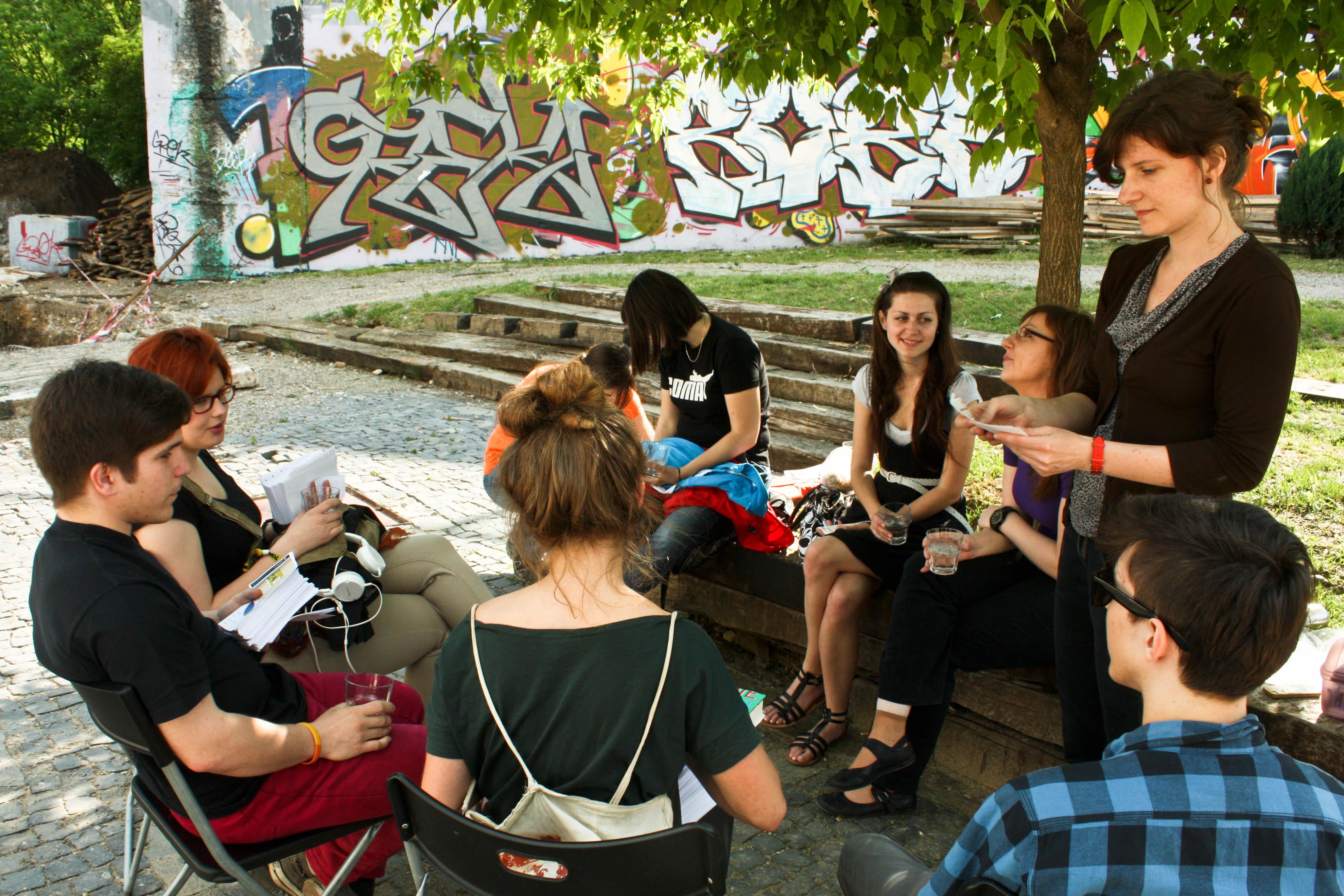 Noc literatúry 2013 / dobrovoľníci