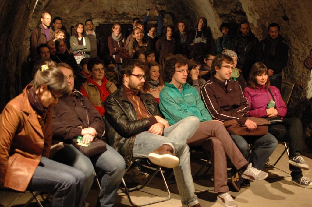 Noc literatúry 2012, foto: Vladimír Salay