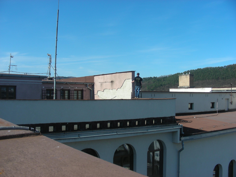 strecha Mestského divadla Žilina