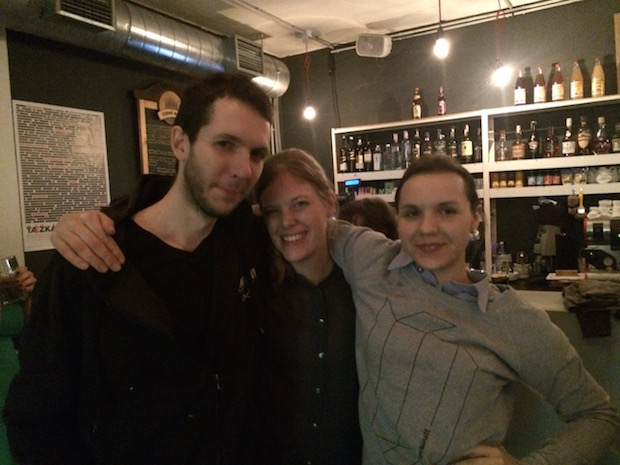 Baptiste, Nienke a Zlatka