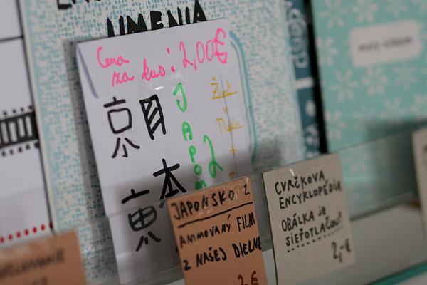 Film Tima Blaha Japonsko 2 v obchodíku na Stanici