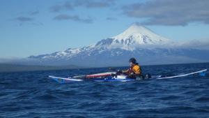 Kajakovanie cez Aleutské ostrovy