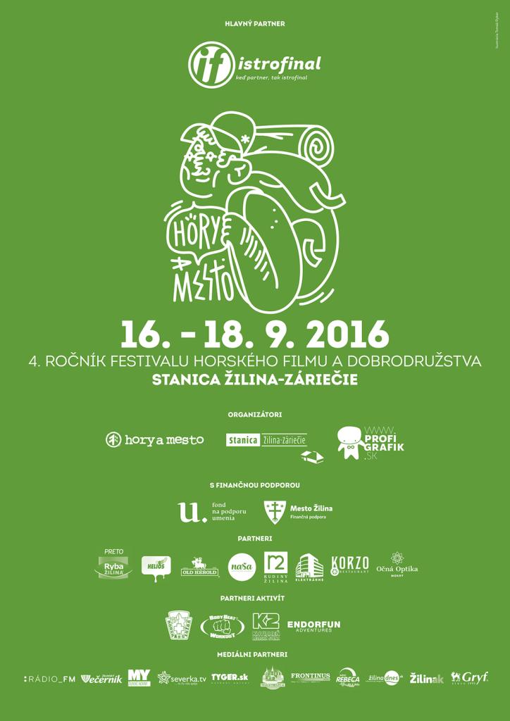 Hory a Mesto Žilina 2016 - partneri