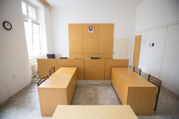 Pojednávacia miestnosť okresného súdu Bratislava 1; foto: Maňo Štrauch, TREND