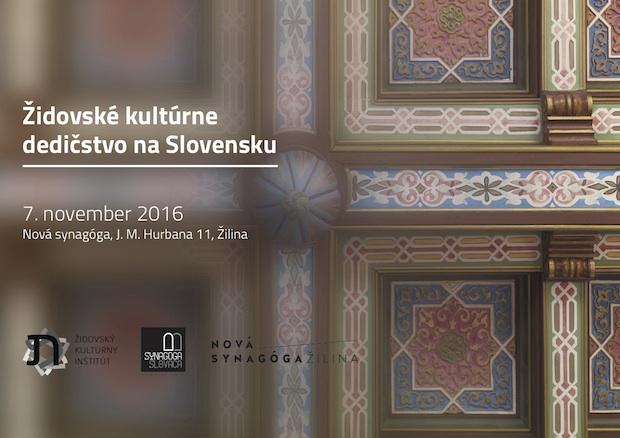 Židovské kultúrne dedičstvo na Slovensku